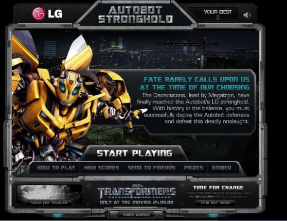 Autobots Stronghold 1
