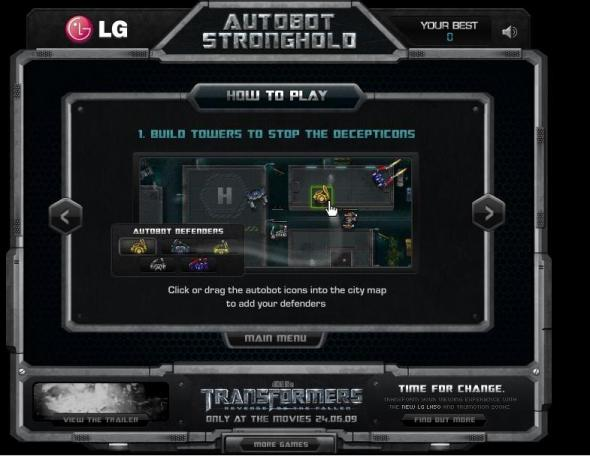 Autobots Stronghold 2