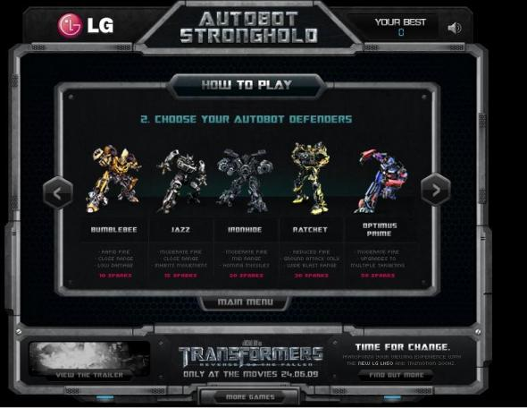 Autobots Stronghold 3