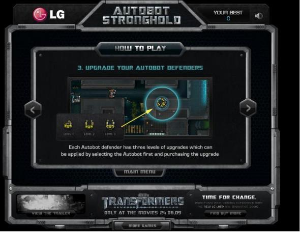 Autobots Stronghold 4