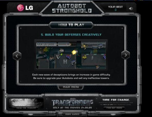 Autobots Stronghold 6