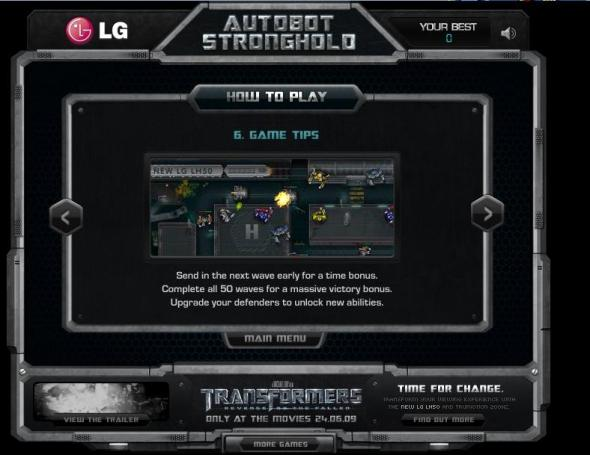 Autobots Stronghold 7