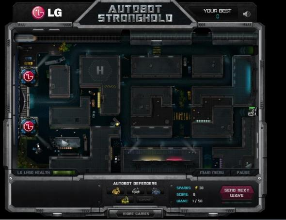 Autobots Stronghold 9